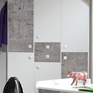 Jugendzimmer Komplett Set Jungen Madchen Jugendzimmermobel Kinderzimmer Kinderzimmermobel Jugendmobel Kleiderschrank Bett Alpinweiss Beton